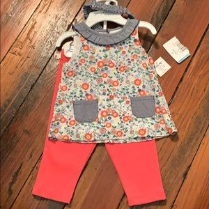 Little Me Spring Outfit 6mo